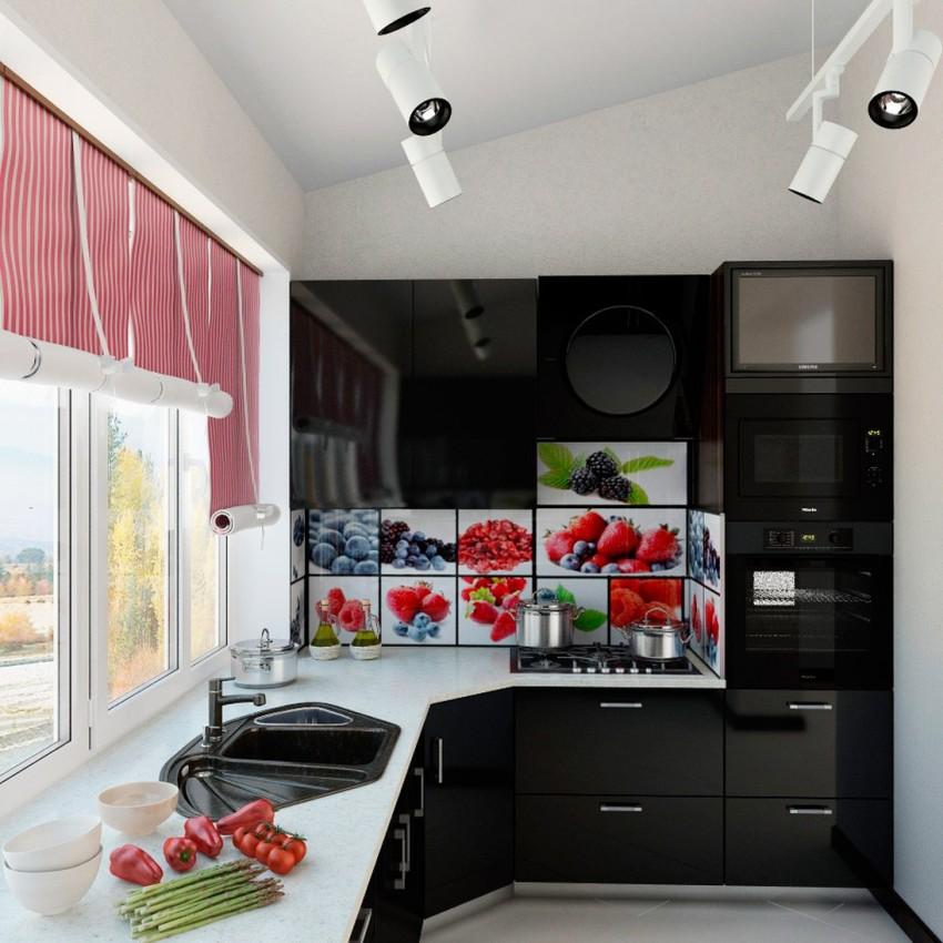 Рулонные шторы позволяют эффектно оформить пространство, формируя при этом уютную атмосферу