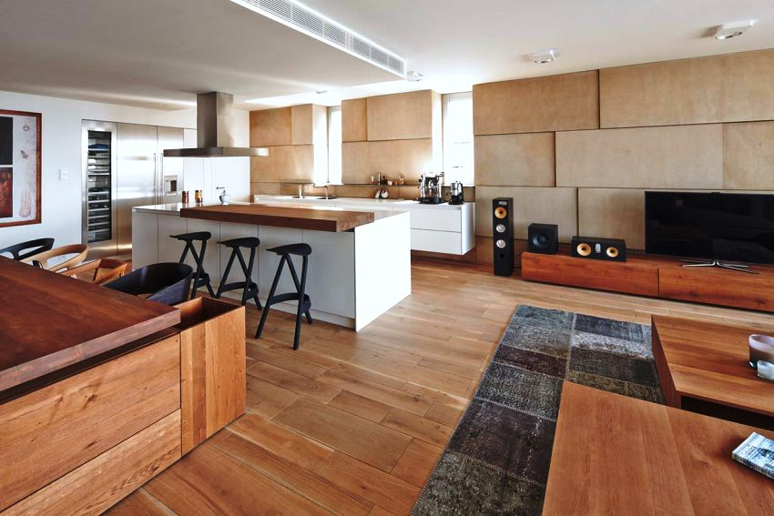 Отделка кухни в стиле минимализм должна быть простой, но при этом качественной