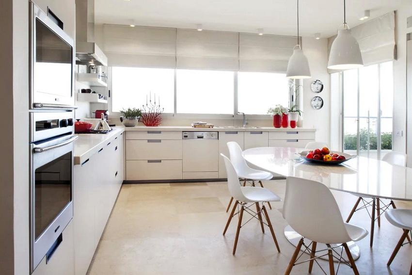 Дизайн современной кухни в стиле модерн в настоящее время становится все более популярным