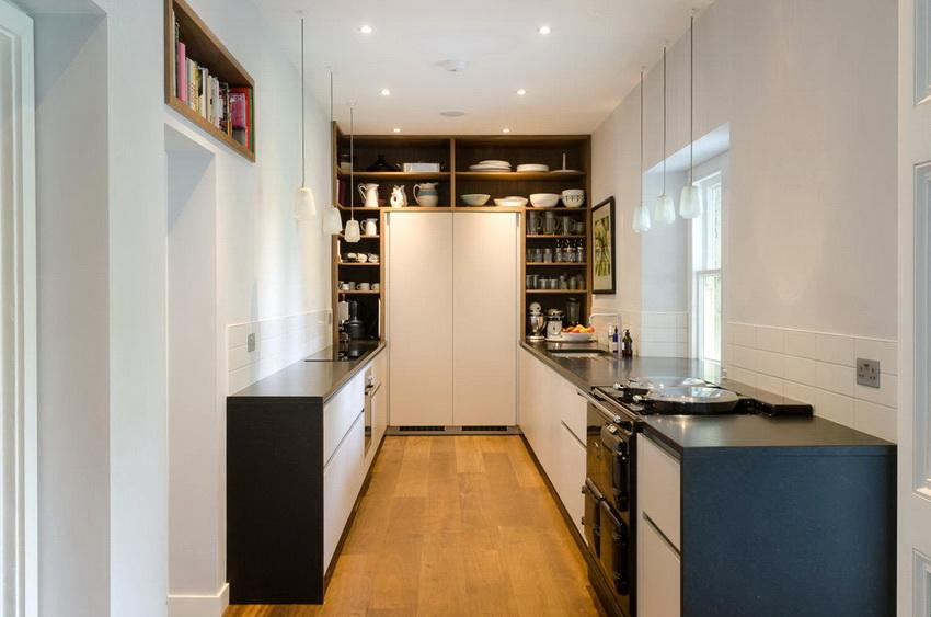 По правилам оформления мойка, плита и холодильник не должны размещаться рядом