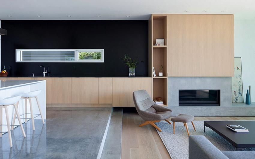 Заранее необходимо определить как будет располагаться кухонная мебель