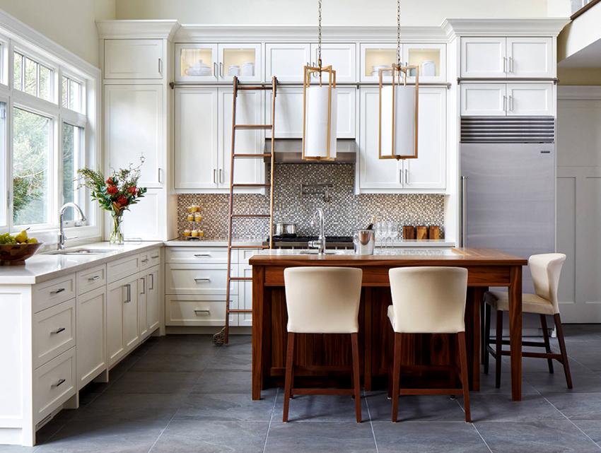 Выбирая кухонный гарнитур нужно четко знать где и что будет находиться