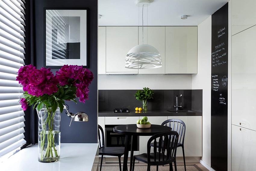 Гарнитуры в стиле минимализм отличаются простотой и минимумом декора