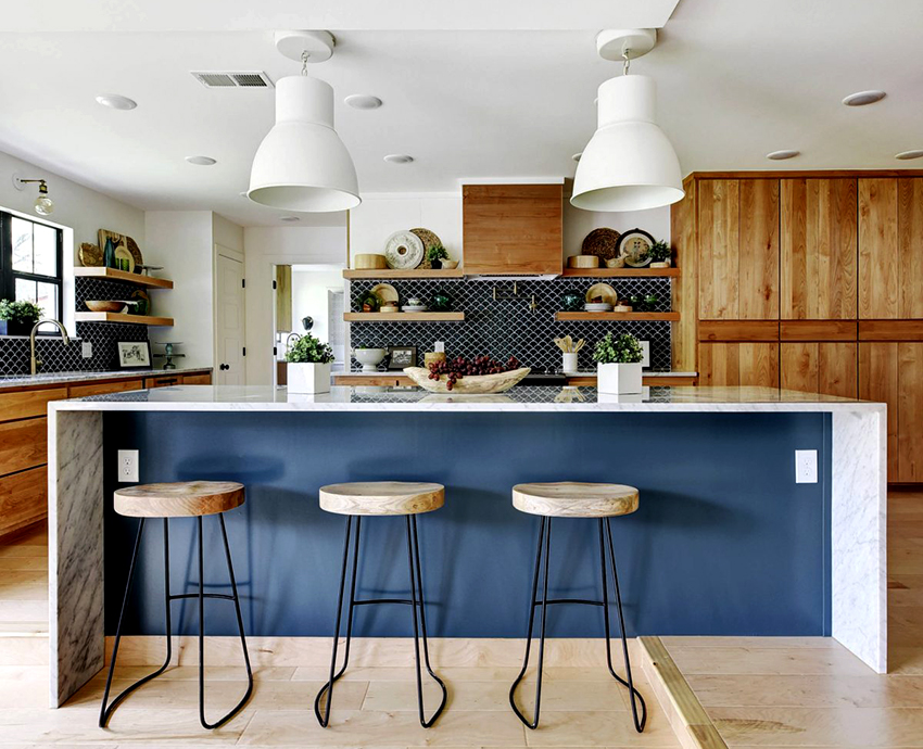 Стандартная ширина кухонных шкафов варьируется в пределах от 150 до 900 мм