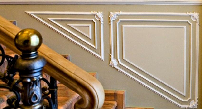 Широкий ассортимент молдингов от компании Perfect позволяет оформить помещения в любом стиле