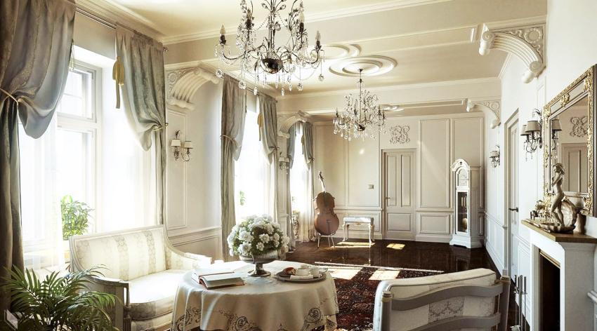 Полиуретановый декор является альтернативой трудоемкой и дорогой гипсовой лепнине