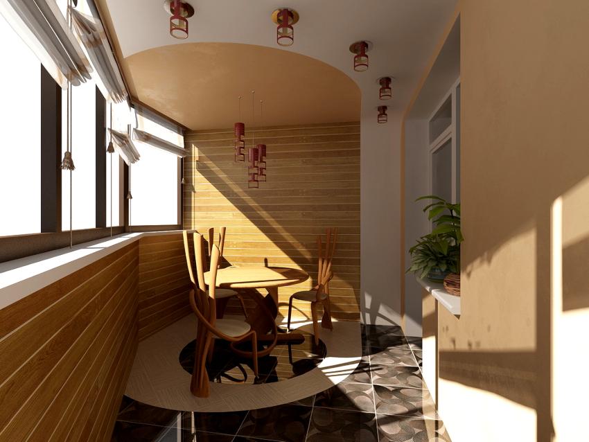 Вагонку, изготовленную из древесины, используют при проведении внутренних отделочных работ