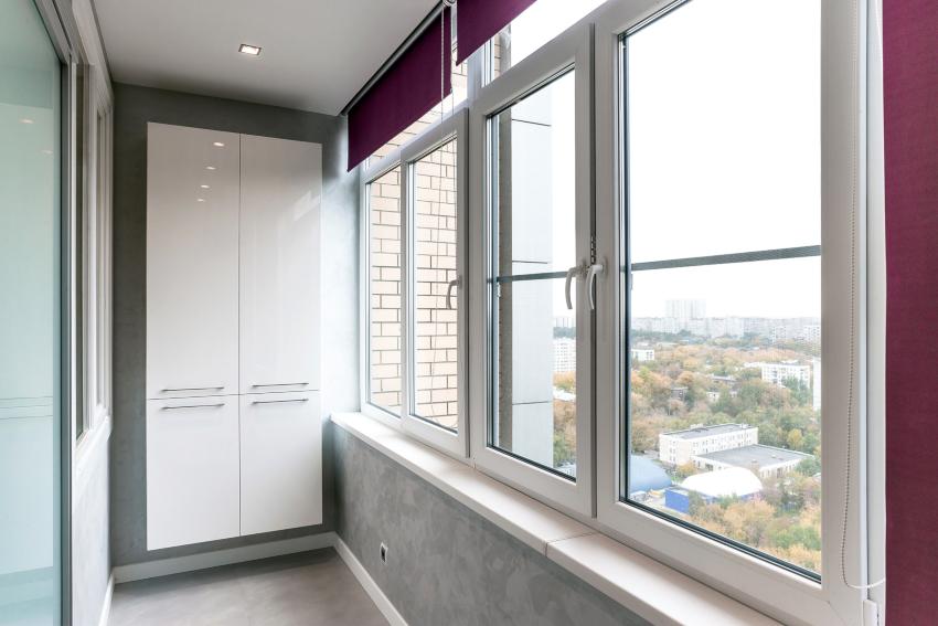 Алюминиевые панели являются дорогостоящим материалом, поэтому в отделке балкона используются очень редко