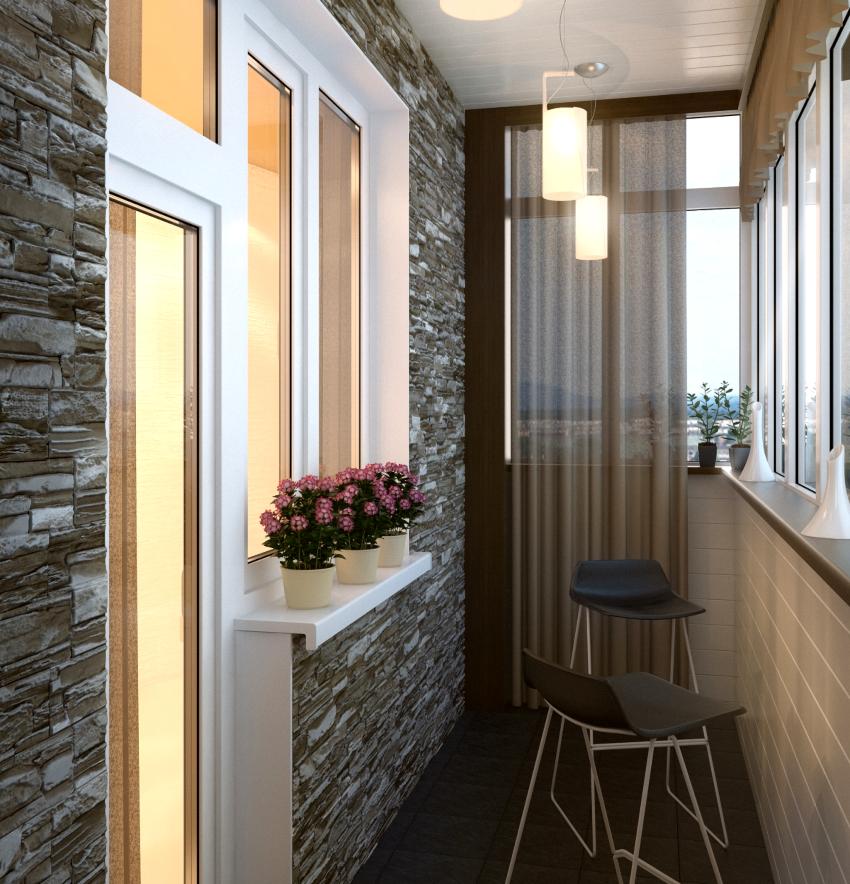 Отделка балкона изделиями ПВХ нуждается в дополнительной тепло- и звукоизоляции
