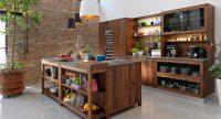 Полки на кухню: как создать красивый и гармоничный интерьер