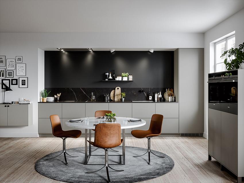 Открытые кухонные полки требуют систематического ухода за собойОткрытые кухонные полки требуют систематического ухода за собой