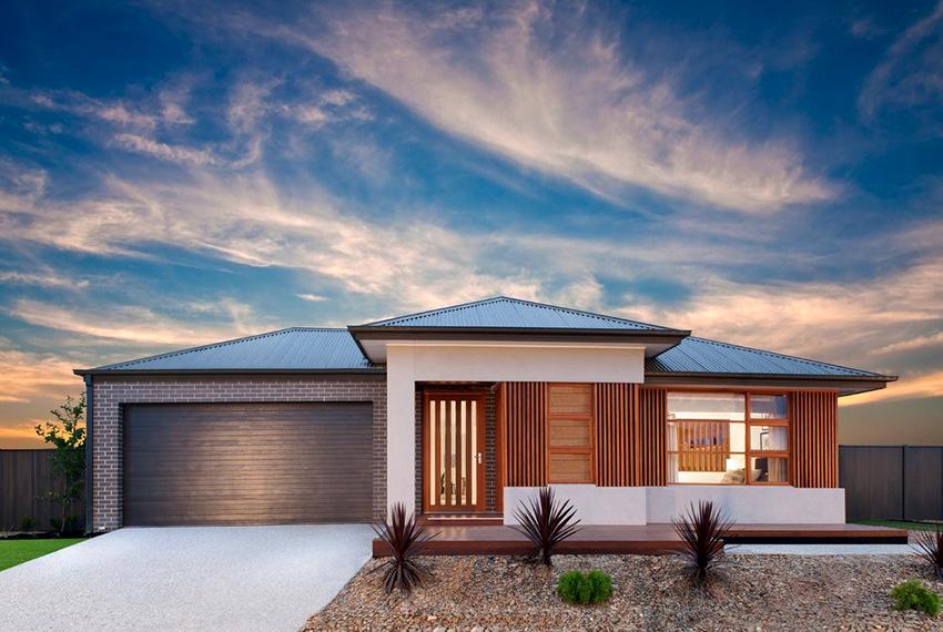 Одноэтажный кирпичный дом может быть с мансардой или цокольным этажом