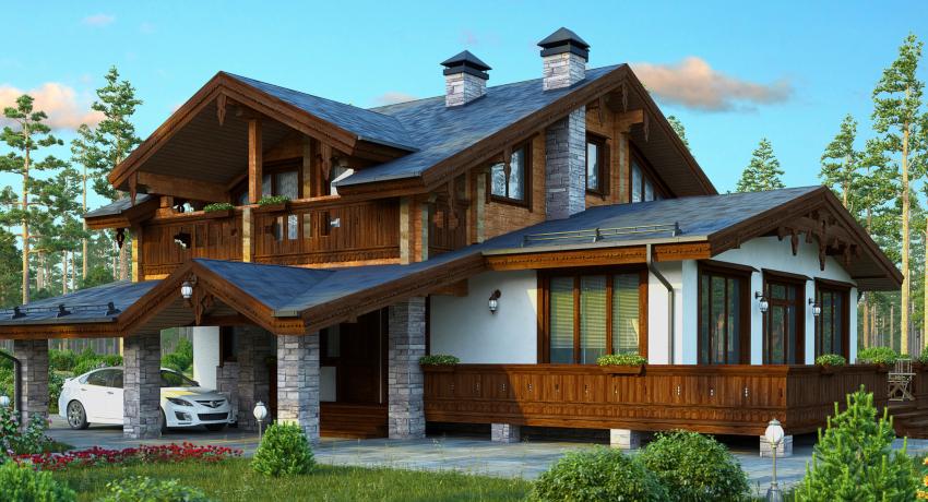 Современные методы строительства позволяют переоборудовать обычный загородный дом в коттедж