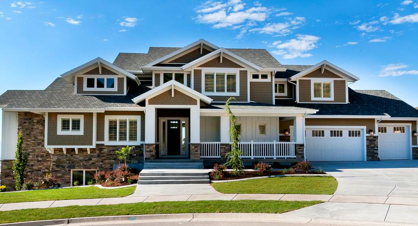 Проекты коттеджей: типовые и оригинальные варианты зданий