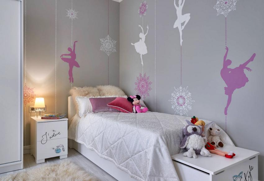 Для школьников от 6 до 17 лет подбирают кровати стандартных размеров – 80х190 см