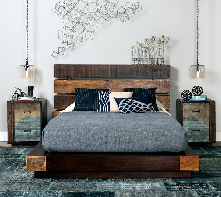 Для кровати нестандартной формы целесообразней заказать матрас по индивидуальным меркам