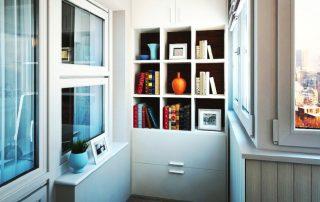 Шкаф на балкон: гарантия эргономики и функциональности в помещении