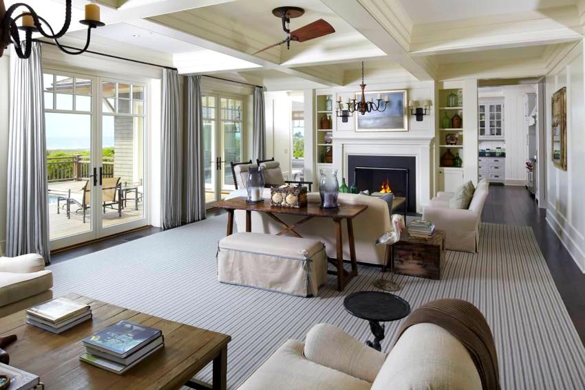 Стиль прованс в интерьере характеризуется обилием света и теплыми, естественными оттенками