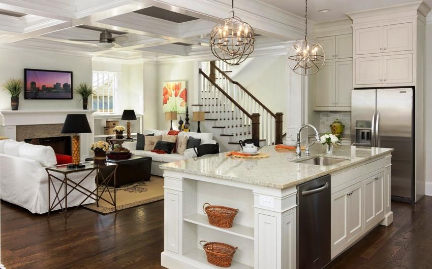Традиционная и современная, лаконичная и благородная, строгая и одновременно легкая кухня в стиле неоклассики