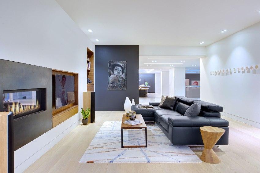 Стиль контемпорари предоставляет большую свободу в выборе материалов, мебели и декора, не имея ограничений и строгих правил