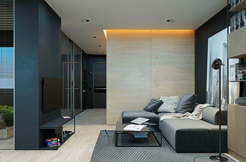 Одним из основных правил считается наличие в комнатах плазменного телевизора