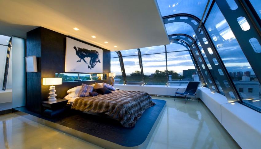Приветствуются элементы освещения вмонтированные в мебель, двери, пол и потолок