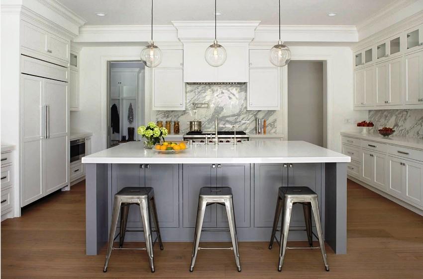 Для оформления кухни подойдет практически любой стиль, главное – правильно его обыграть