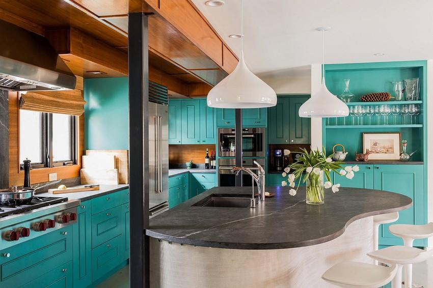 Кухня должна быть такой, чтобы находиться на ней было не просто удобно, но и приятно