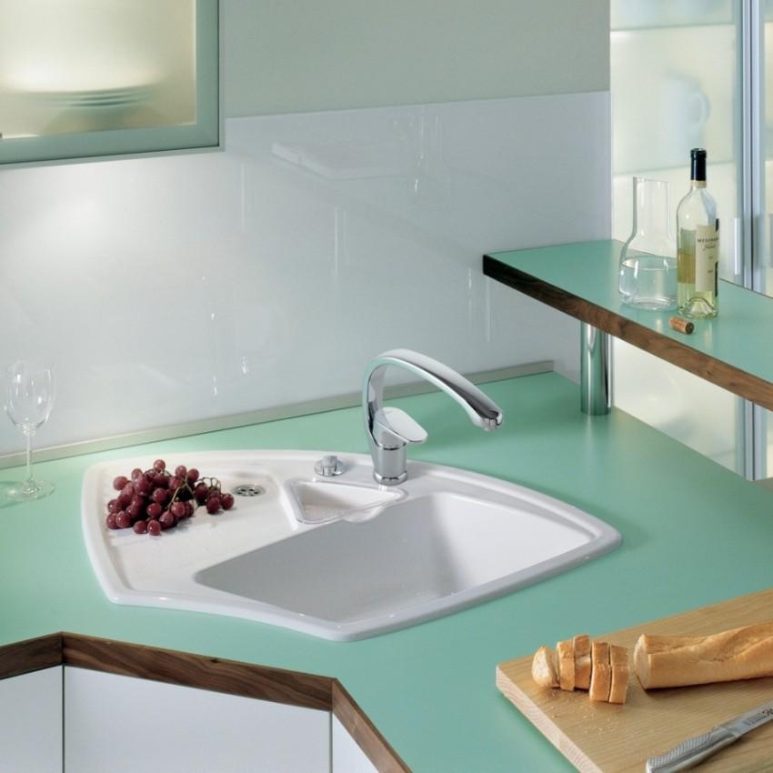 Руководством к действию при выборе моек должны стать габариты кухонной мебели