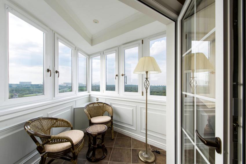 Наиболее востребованным для остекления балконов считается двойной стеклопакет