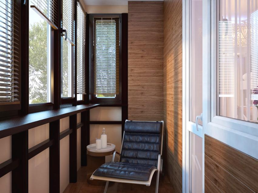 Деревянное остекление балконов имеет высокую стоимость