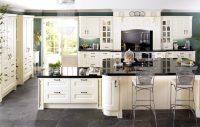 Важные элементы в оформлении на которых сконцентрирована основная расцветка, – это фасады кухонного гарнитура