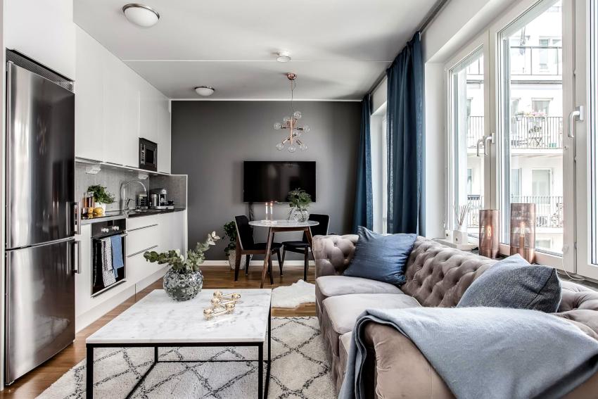 Мягкая мебель на кухне чаще всего имеет каркас, выполненный из натуральной древесины