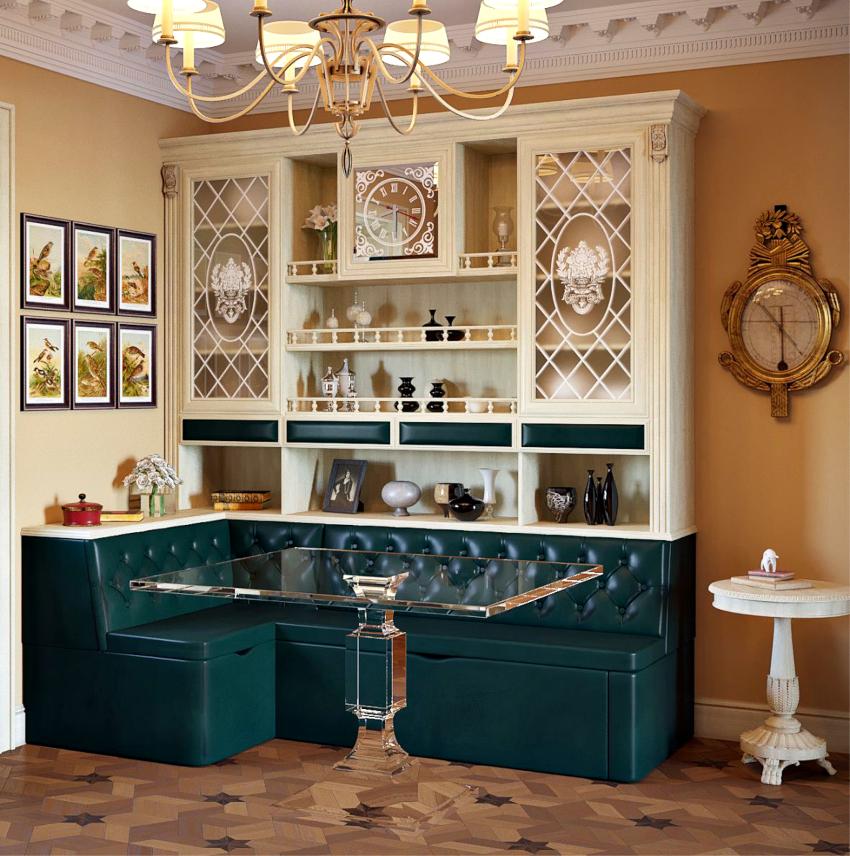 Кухонные диваны с ящиками пользуются наибольшим спросом среди покупателей
