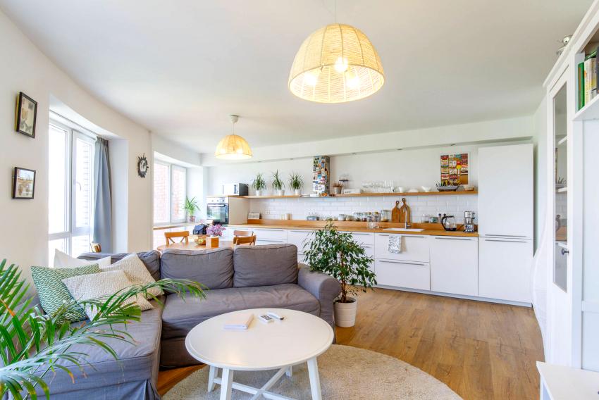 Кухонный диван со спальным местом должен иметь длину не менее 170 см