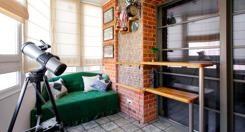 Дизайн балкона: как сделать из помещения дополнительную комнату