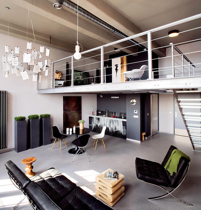 Для отделки дома и квартиры в стиле лофт должны использоваться нейтральные оттенки
