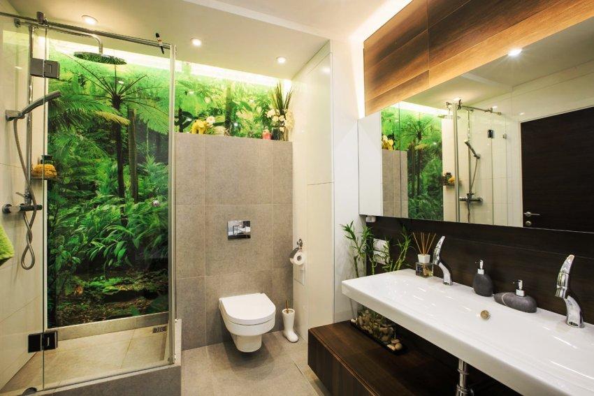 Создавая интерьер, оформленный в экостиле, дизайнеры черпают вдохновение в природе