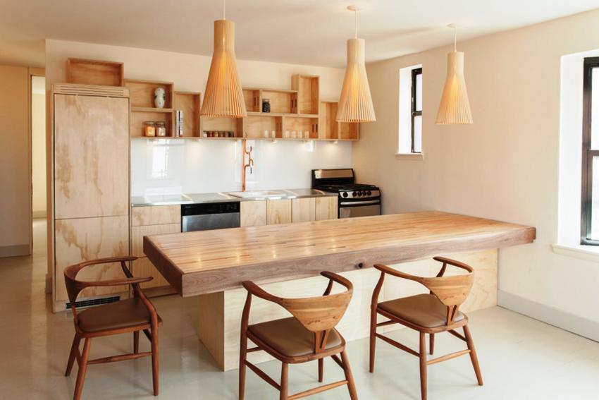 Экостиль предполагает использование в декоре помещений натуральных материалов и расцветок