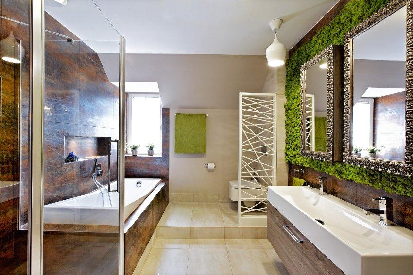 В помещениях, отделанных натуральными материалами, живыми растениями, человек отдыхает от бешеного ритма мегаполиса, расслабляется