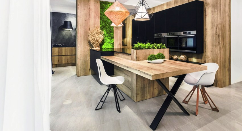 Фото кухонь: мебель, ее разновидности и роль в интерьере
