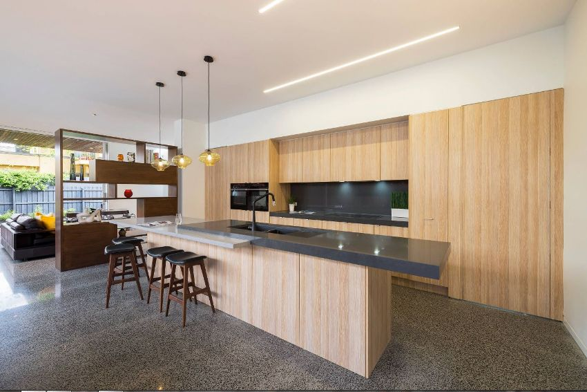 Мебель в стиле хай-тек отличается использованием самых передовых и современных материалов