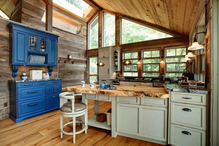 Выбор материала кухонной мебели зависит от финансовых возможностей покупателя