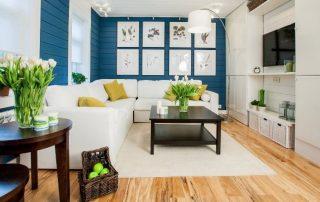 Гостиная в современном стиле: актуальные и новомодные тренды в дизайне комнаты