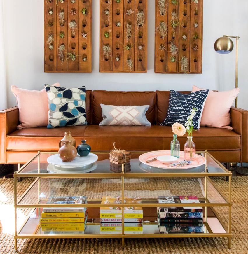 Маленькая гостиная должна быть оформлена максимально комфортно и оригинально