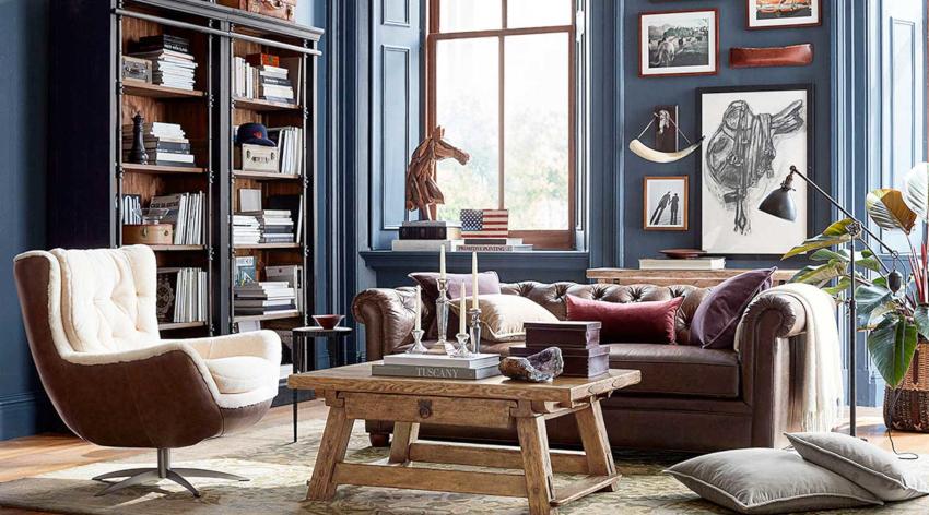 Выбор цвета зависит от того, какой эмоциональный и визуальный эффект должна создавать комната
