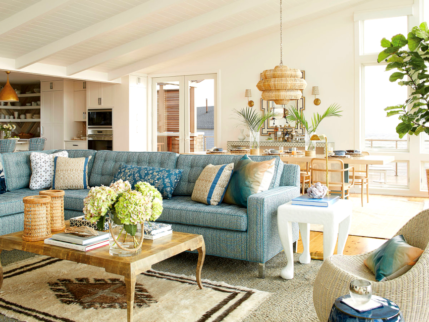 Разрабатывая интерьер гостиной следует учитывать интересы каждого члена семьи