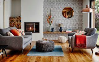 Интерьер гостиной: оригинальное преображение пространства