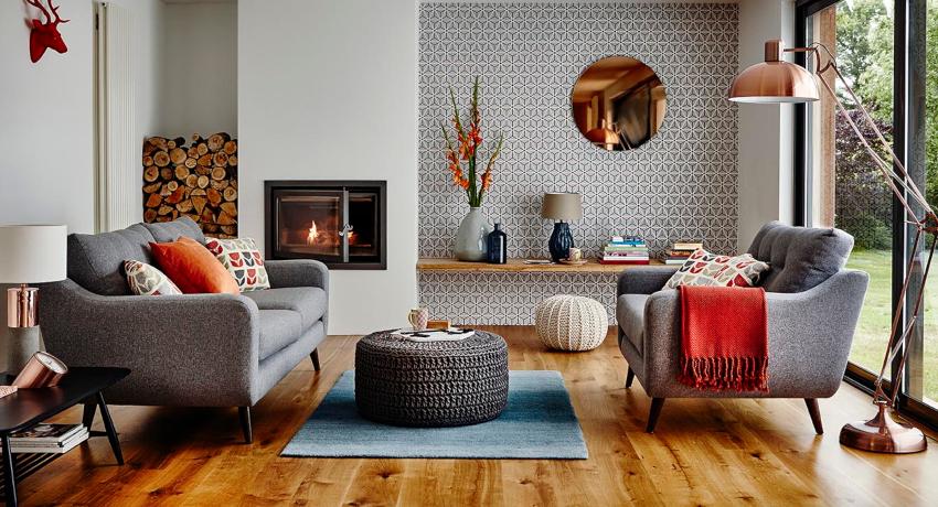 Интерьер гостиной: оригинальное преображение помещения
