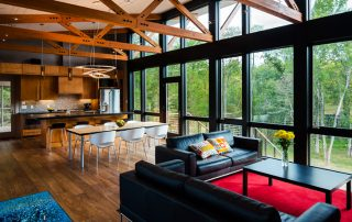 Интерьер кухни-гостиной: большая и функциональная площадь